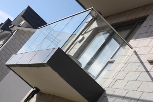 Crystal Frameless Glass Balustrade 3